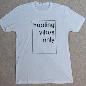 ⚡FRI SALE⚡EUC Healing Vibes Only T-shirt